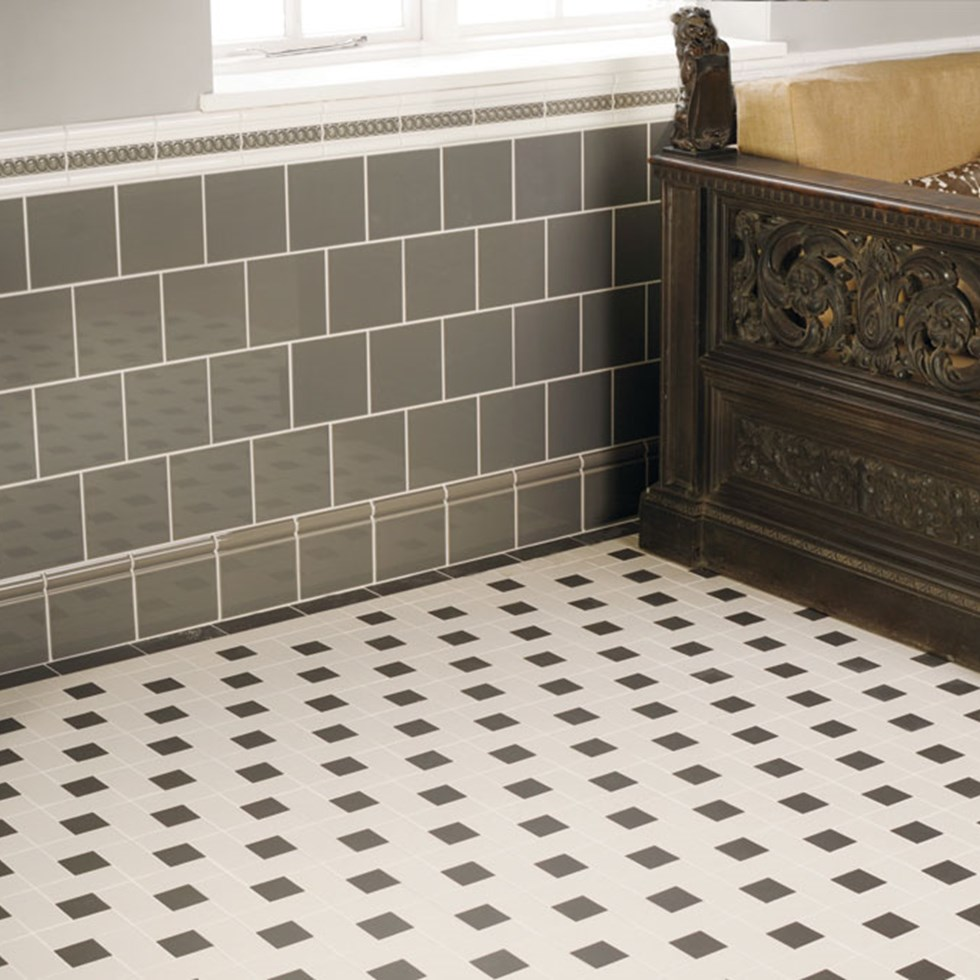 Heritage Tiles In Art Deco Style For Kitchens And Bathrooms: Victorian Grīdas Flīzes